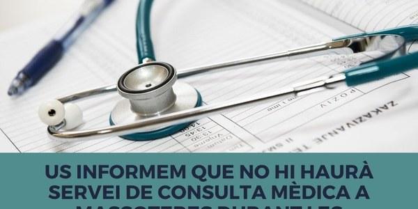 Canvis en el servei de consulta mèdica