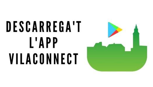 Descarrega't l'aplicació mòbil VILACONNECT per rebre tota la informació de Massoteres